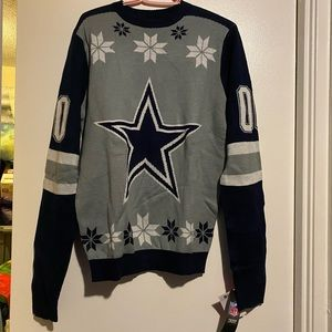 BNWT NFL DALLAS COWBOYS UGLY CHRISTMAS SWEATER